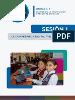 La Competencia Digital y El Modelo SAMR Ccesa007