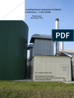Report Case Study CHP in Greenhouses