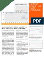 Contract Demand and Tariff Optimization