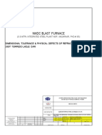 Dimensional Tolerance & Physical Defects of Refractory Bricks-350T TLC-N...