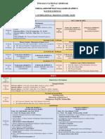 Seminar Schedule Tentative