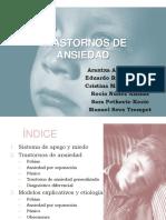 Trastornos Ansiedad Niños y Adolescentes