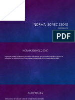 Norma ISO 25004 y Modelos de Calidad