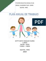 Plan Anual de Trabajo Inicial