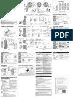 Panasonic RR-US360 - Operating Instructions (English)
