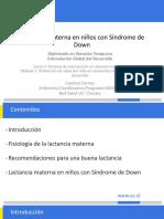 LM SINDROME DE DOWN