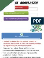 Enzyme Regulation