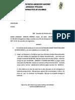 Derecho de Peticion Diana
