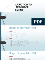 An Introduction to Hrm Management