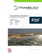 Framecad Connector Solutions Technical Manual