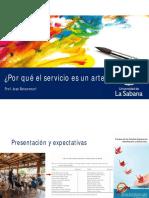 1 Introducción El Arte Del Servicio