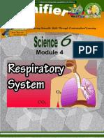 Workbook # Respiratory System