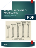 5 Classical Orders of Architecture