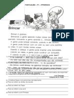 PORTUGUÊS 3ºpeíodo P1