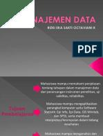 Manajemen Data 1
