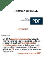 Aposentadoria Especial 2017