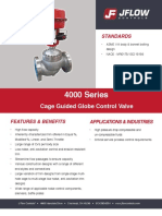4000 Series control valve