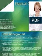 Dresding Medical Case