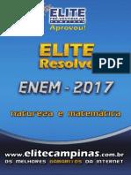 Elite Resolve ENEM 2017 Dia2