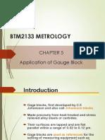 BTM2133-Chapter 5 Application of Gauge Block