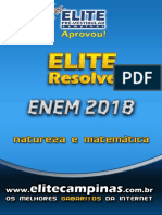 Elite Resolv ENEM 2018 natureza matematica