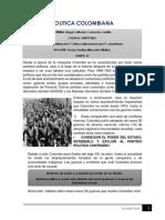 POLITICA COLOMBIANA