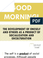 Socialization and Enculturation