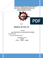 Manual de Civil 3D