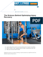 The Science Behind Optimizing Injury Recovery