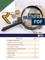 IIFL Union Budget 2019-20(1)