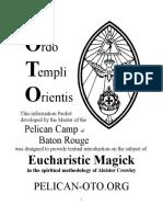 Magia Eucaristica, Eucharistic Magick