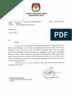 Surat Untuk Bupati GMHP