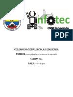 Colegio Nacional Nicolas Esguerra INTRODUCCION