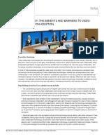 Video Collaboration Study Whitepaper