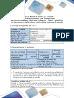 Guia de Actividades y Rúbrica de Evaluación - Fase 2- Identificar Los Fundamentos de La Calidad y Seleccionar Empresa de Estudio (1)