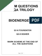 bioenergetcis