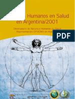 recursos humanos salud 2001