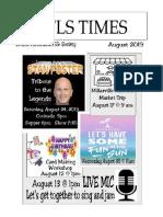 GFLS August 2019 Newsletter