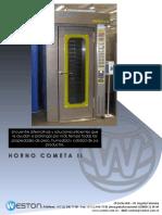 Modelo Ficha Tecnica Horno Cometa II