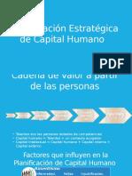 Planificación Estratégica de Capital Humano