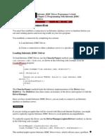INFORMIX JDBC Driver Programmer's Guide