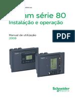Manual SEPAM80 Utilizacao BR