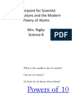 Contributions of philosopher sin relation to atom.