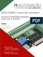 Manual Placa Interface Controladora CNC 5 Eixos Mach3 R01