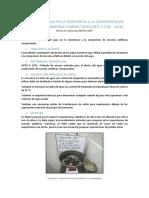 Efecto Del Agua en La Resistencia a La Compresión de Mezclas Bituminosas Compactadas