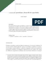 Ciudadanía, aprendizaje y desarrollo de capacidades_Duhart