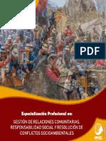 7.Gestión deRelaciones Comunitarias, Responsabilidad Social y Resolución de Conflictos Socioambientales - OMDEC Perú