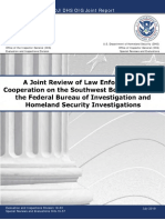 Doj _ Dhs Oig Report - July 2019