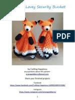 Compartir 'Foxy Fox Lovey Security Blanket Crochet Pattern.pdf'