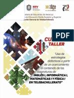 Cuadernillo Inglés I 2019